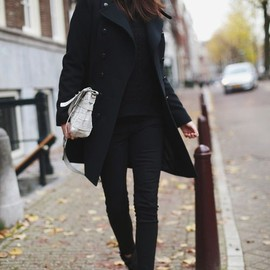 cool black style