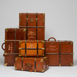"PRADA - customize bags and suitcases for ""The Grand Budapest Hotel"""