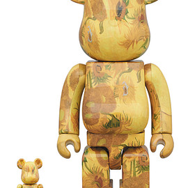 MEDICOM TOY - BE@RBRICK 「Van Gogh Museum」 Sunflowers 100% & 400%