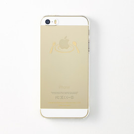 "CEMENT PRODUCE DESIGN, iTattoo - ""Main Dish"" for iPhone5/5s Champagne gold"