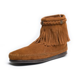 MINNETONKA - Women's Hi Top Back Zip Boot