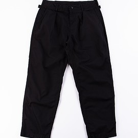 Engineered Garments - Black 6.5oz Flat Twill Ground Pant