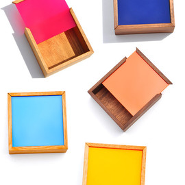 Square Color Chip Box