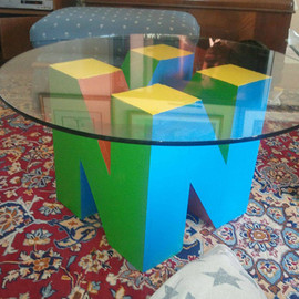 Keenan Bosworth - Nintendo 64 Coffee Table