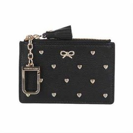 ANYA HINDMARCH - Studded Heart Floyd - Black