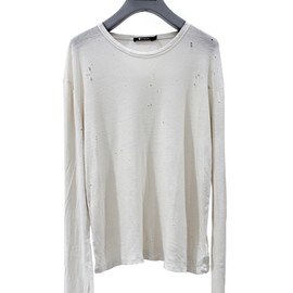 T by ALEXANDER WANG|T byアレキサンダー ワン - DISTRESS WASHED PILLY RAYON SILK