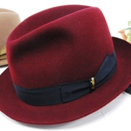Borsalino - Wine Color Hat
