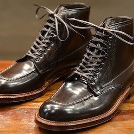 ALDEN - SHELL CORDOVAN INDY BOOTS #8