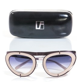 LINDA FARROW FOR ERDEM - Cat-eye sunglasses