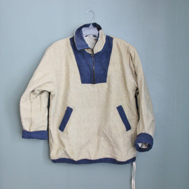 Jayli - Vintage Canvas Pullover Jacket - Early 90s