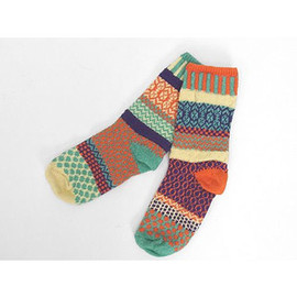 Solmate Socks - Adult Cotton Socks (Dawn)