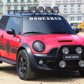 MINI - Mini Cooper S Red Mudder by Dsquared2