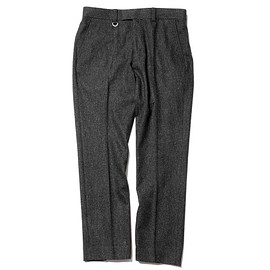 SOPHNET. - LIGHT STRETCH TWEED SLACKS