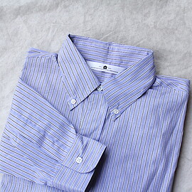 SILVER AND GOLD GENERAL MERCHANDISE - SGGM BD SHIRTS (RELAX FIT) BLUE STRIPE
