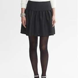 Banana Republic - BR Monogram Fit-and-Flare Skirt