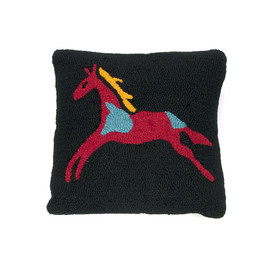 PENDLETON - Hooked Wool Rock Art - Horse