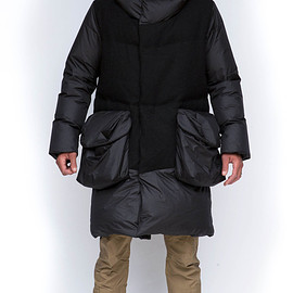 GRIFFIN - Down Wool Coat