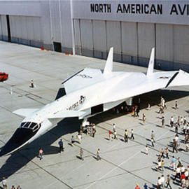 North American - XB-70 Valkyrie