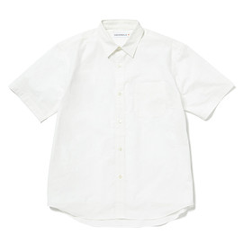 HEAD PORTER PLUS - REGULAR SHIRT H/S WHITE
