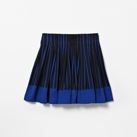 COS - Striped pleat skirt