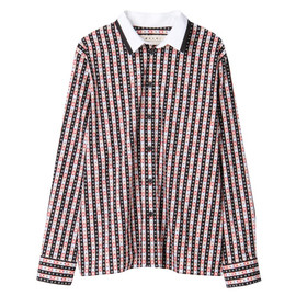 MARNI EDITION - L/S POLO NECK SHIRT