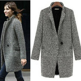 Trench Coat Wool Jacket