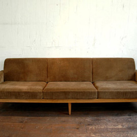Truck Furniture - TORCH SOFA 3-SEATER FABRIC ARM TYPE