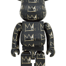 MEDICOM TOY - BE@RBRICK JEAN-MICHEL BASQUIAT #8 1000%