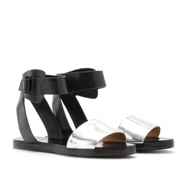 3.1 Phillip Lim - 3.1 Phillip Lim - MIRRORED METALLIC SANDALS
