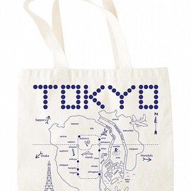 MAPTOTE - Tokyo Grocery Tote