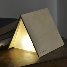Luca Cozzi - Late Mate bookmark lamp