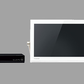 Panasonic, PRIVATE VIERA - 防水仕様&HDD内蔵テレビ UN-15T5-W