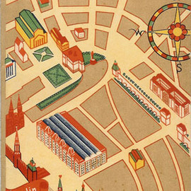 MOSCOW: PICTORIAL STREETMAP