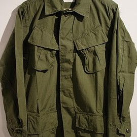 U.S. Military - 70's Dead Stock Jungle Fatigue Jacket