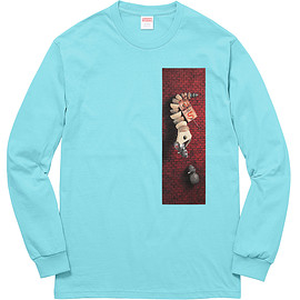 Supreme, Mike Hill - Snake Trap L/S Tee