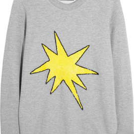 Markus Lupfer - Sequined cotton sweatshirt