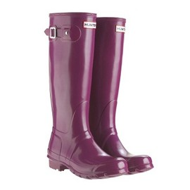 Hunter - Original Gloss Tall Boot (Violet)