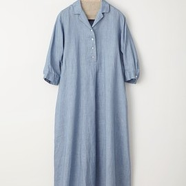 ARTS&SCIENCE - Open Collar Shirt Dress