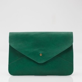 Envelope Clutch (Green)