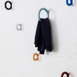 Hay - The doughnut-like Gym Hooks are designed by Swedish designer Staffan Holm