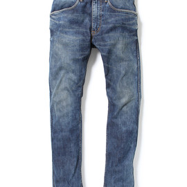 nonnative - DWELLER 5P JEANS TIGHT FIT - C/P DENIM STRETCH VW
