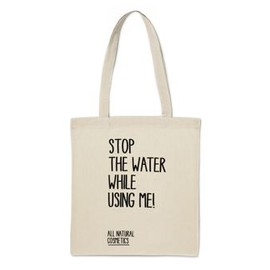 STOP THE WATER WHILE USING ME! - STOP THE WATER エコバッグ