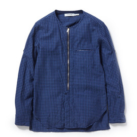 nonnative - LABORER SHIRT COTTON HOUNDSTOOTH