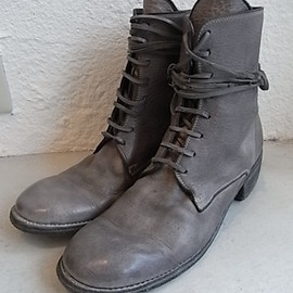 GUIDI - 8HOLE LASE UP BOOTS