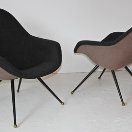 Pierre Guariche - lounge chairs