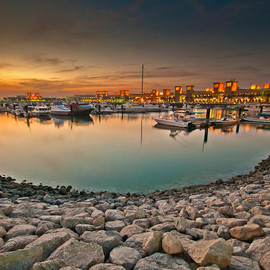 Fine Art America - Kuwait Sharq Market Evening  Photograph