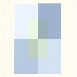 Josef Albers - Josef Albers silkscreen | Interaction of Color, 1963
