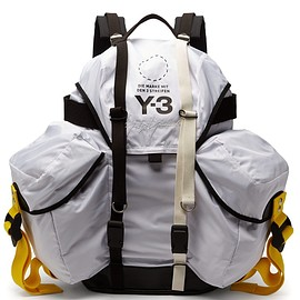 Y-3 - Logo-print backpack