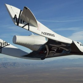 Virgin Galactic - The Virgin Galactic ship SS2