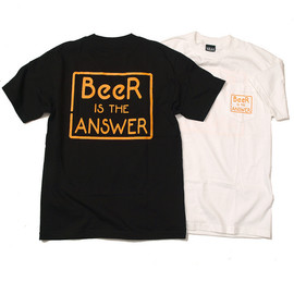 RELAX ORIGINAL® - Beer Is The Answer Pocket Tee